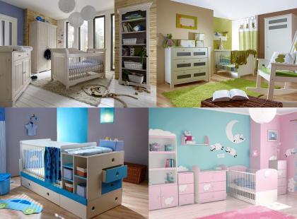 Kolorowe pokoiki dla chłopca i dziewczynki