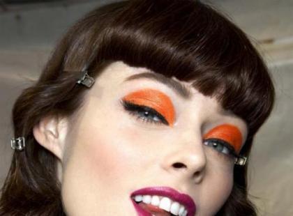 Kolorowe powieki - hit w makijażu!