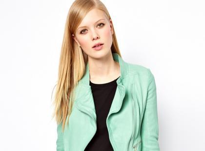 Kolorowe ramoneski - moda na wiosnę 2013