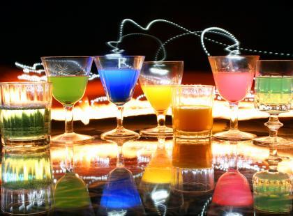 Kolorowe shoty na imprezę