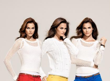 Kolorowe spodnie - trendy na wiosnę i lato 2012!