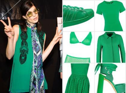 Kolorowe szaleństwo: 17 zielonych ubrań i dodatków