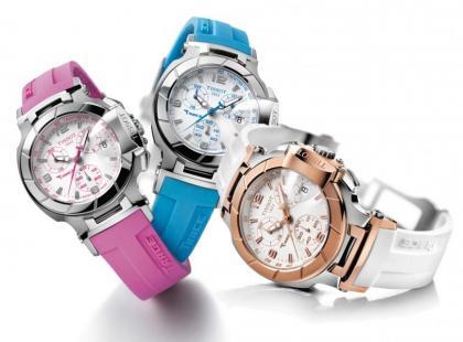 Kolorowe zegarki Tissot T-Race Lady