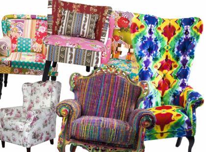 Kolorowy fotel - najmodniejszy dodatek!