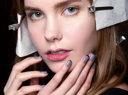 Kolorowy french manicure krok po kroku