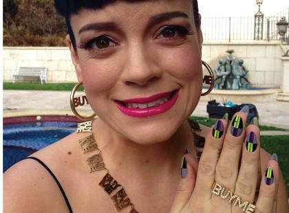 Kolorowy manicure gwiazd!