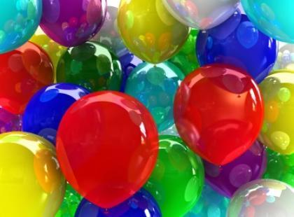 Kolory przynoszą szczęście, zdrowie i dobre samopoczucie