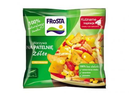 Kolory wiosny i lata z warzywami na patelnię marki FRoSTA