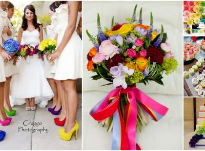 Kolorystyka ślubna - trendy 2013