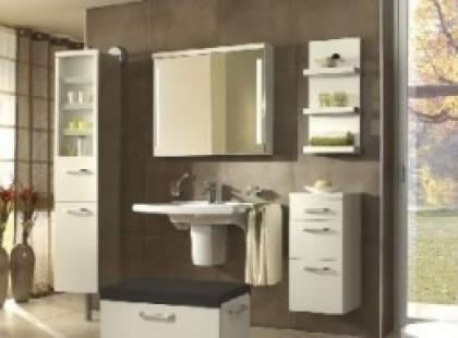 Komfortowe i stylowe meble łazienkowe