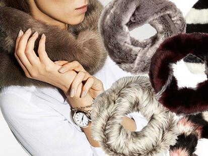 Komin z futerka – stylowy dodatek jesień i zimę