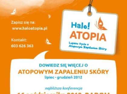 Plakat Halo!ATOPIA/fot. AS Media Design
