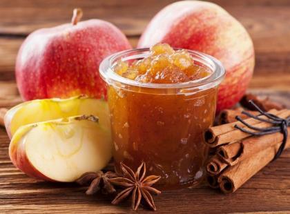 Konfitura jabłkowa z bakaliami