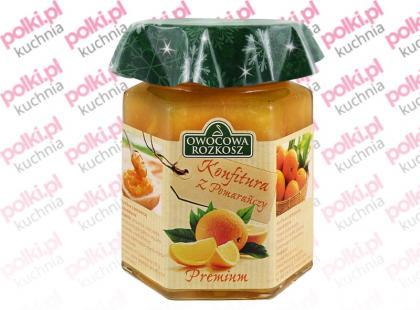 Konfitura z pomarańczy - idealna do wypieków