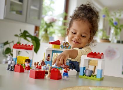 """KONKURS! Do wygrania 10 zestawów LEGO Duplo """"Stajnia z kucykami"""""""