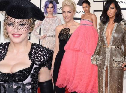 Kontrowersyjne i odważne looki gwiazd na Grammy Awards 2015
