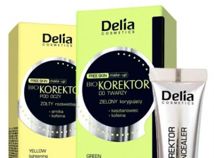 Korektory mineralne Delia Free Skin Make Up