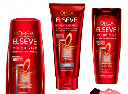 Kosmetyki do włosów Elseve Color Vive - L'Oréal