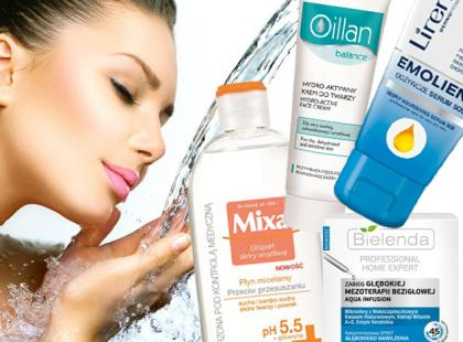 Kosmetyki głęboko nawilżające - nasze typy