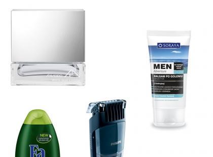 Kosmetyki i akcesoria dla twojego chłopaka