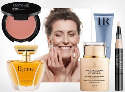 Kosmetyki, które powinna mieć każda 50-latka