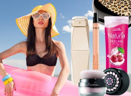Kosmetyki, które warto zabrać na wakacje!