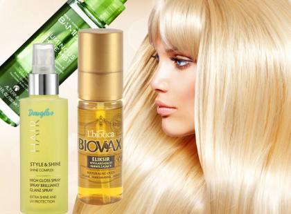 Kosmetyki nabłyszczające do włosów na wiosnę
