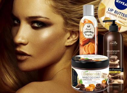 Kosmetyki o obłędnie słodkich zapachach