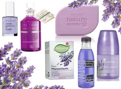 Kosmetyki pachnące lawendą