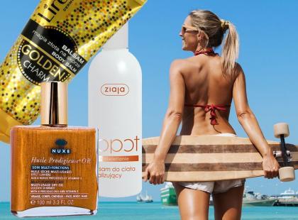Kosmetyki rozświetlające do ciała na lato 2014