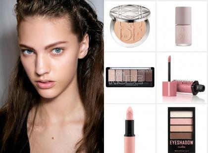Kosmetyki w kolorze nude na lato 2015