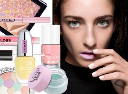 Kosmetyki w pastelowych odcieniach na wiosnę 2015