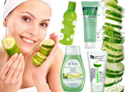 Kosmetyki z ogórkiem - nawilżają, koją i rozświetlają skórę!