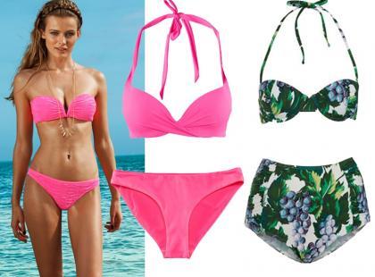 Kostiumy kąpielowe na lato 2013
