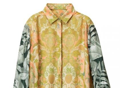 Koszula w kwiaty - H&M