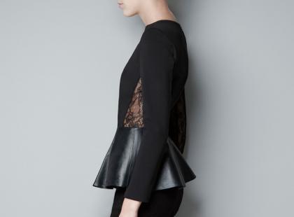Koszule i bluzeczki Zara - jesień i zima 2012/13