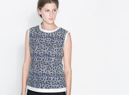 Koszule i bluzki Zara na jesień i zimę 2013/14
