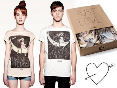 Koszulki dla zakochanych Pull & Bear