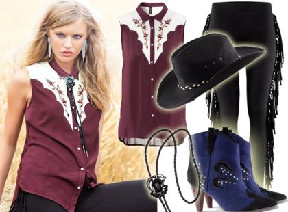 Kowbojskie ubrania i gadżety z H&M na jesień 2012