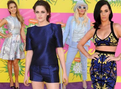 Kreacje gwiazd na Kids' Choice Awards 2013