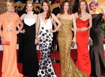 Kreacje gwiazd na rozdaniu amerykańskich nagród filmowych SAG