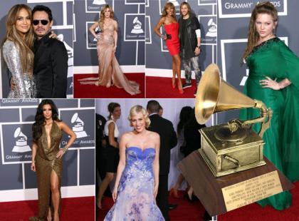 Kreacje i stylizacje gwiazd - Grammy Awards 2011