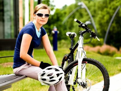 Kręgosłup na rowerze
