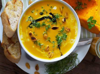 Krem z dyni – przepis na smaczną zupę-krem