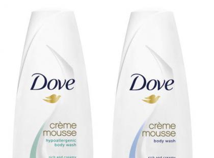 Kremowy mus pod prysznic - Dove
