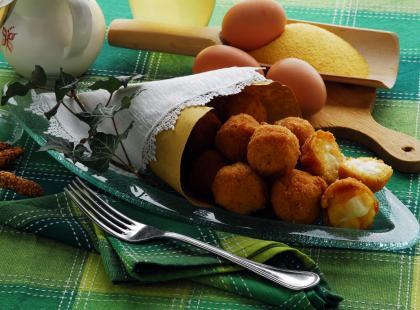 Krokiety jajeczne z ziołami