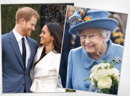 Królowa Elżbieta II nie pojawi na ślubie księcia Harry'ego i Meghan Markle