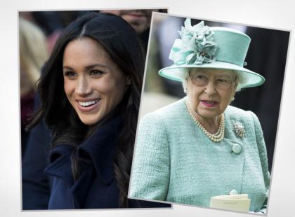 Królowa Elżbieta II po raz pierwszy złamała zakaz, i to specjalnie dla Meghan Markle. O co chodzi?