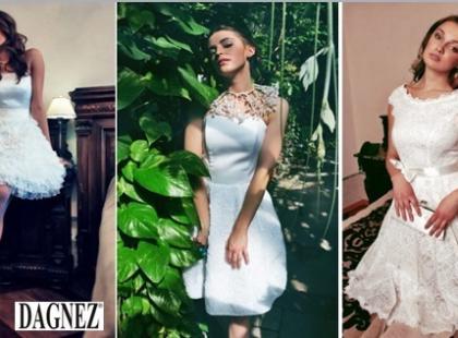 Krótka sukienka ślubna - porady