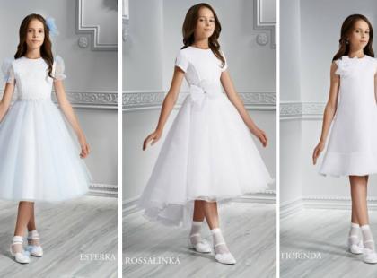 Krótkie sukienki komunijne